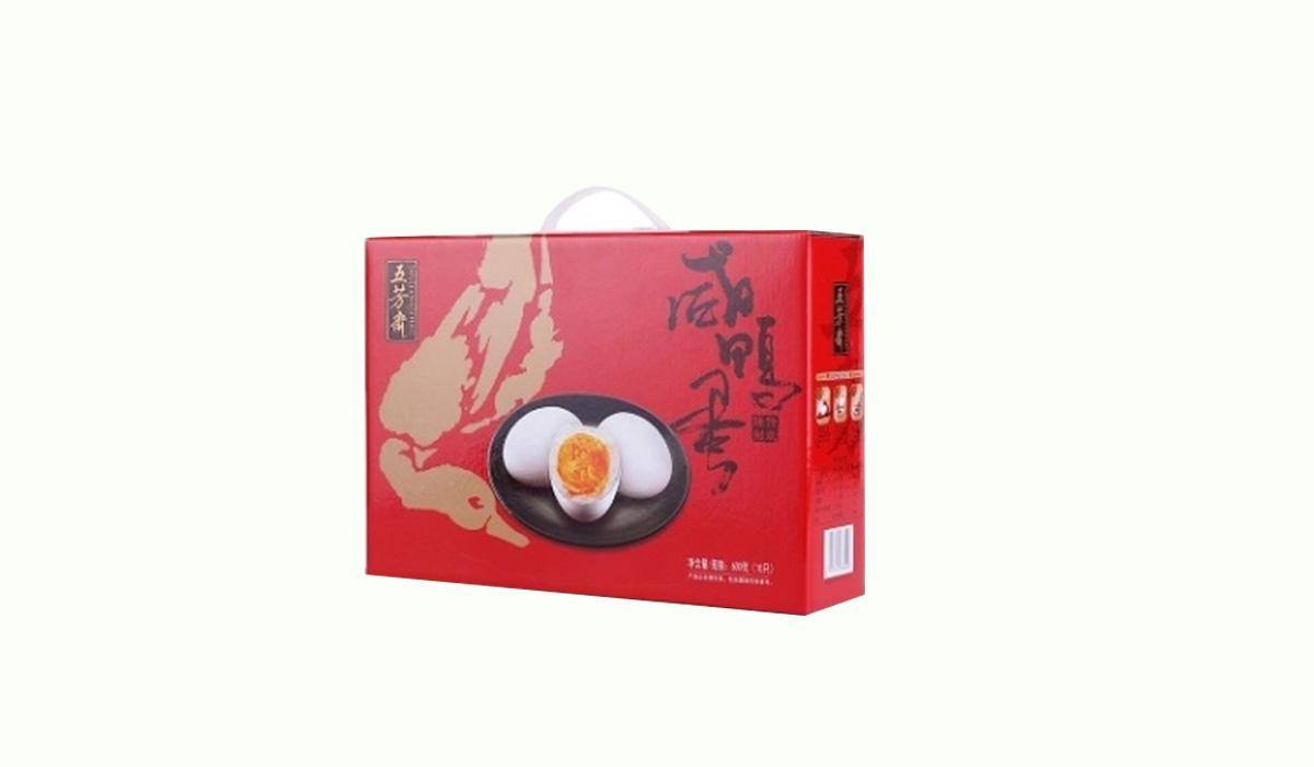 真空咸鸭蛋礼盒60g*10